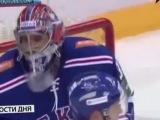 Голкипер СКА Илья Ежов станцевал